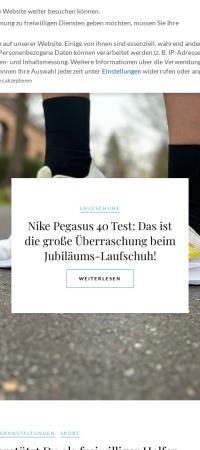 Screenshot von www.sports-insider.de