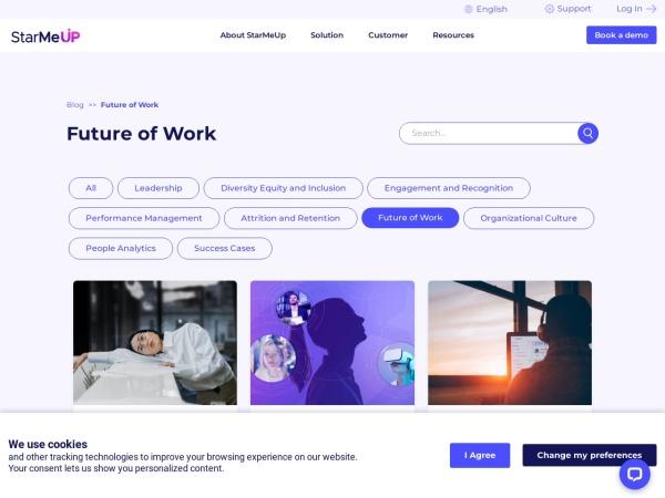 StarMeUp OS Blog Screenshot
