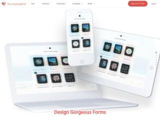 Screenshot of www.surveylegend.com