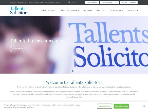 https://www.tallents.co.uk