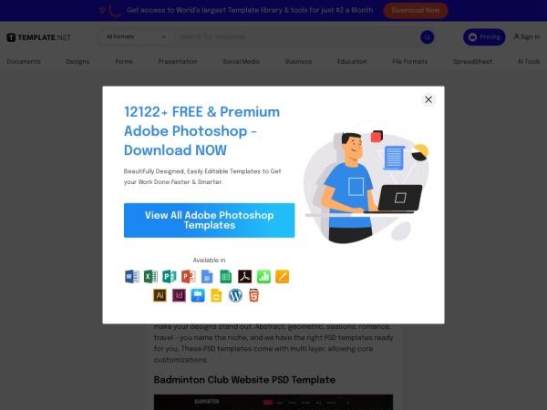 8 Responsive PSD Themes & Templates | Free & Premium Templates