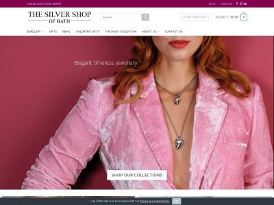 Screenshot of www.thesilvershopofbath.co.uk