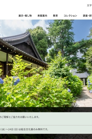 Screenshot of www.tnm.jp