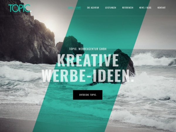 Screenshot of www.topic.de