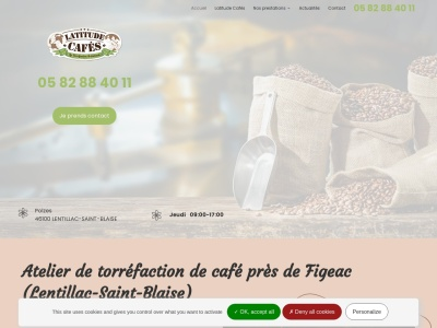 Découvrez le café torréfié le plus exquis dans toute la région du Figeac et dans les environs.