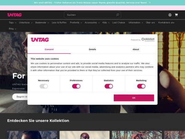 Screenshot von www.trans-missie.com
