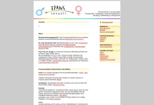 Screenshot of www.transsexuell.de