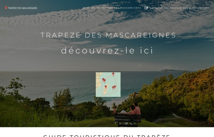 Screenshot of www.trapeze-des-mascareignes.xyz