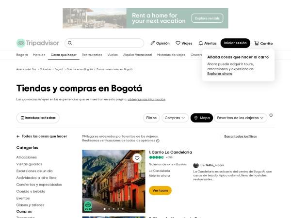 Captura de pantalla de www.tripadvisor.es
