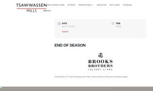 Tsawwassen Millsウェブサイトサムネイル