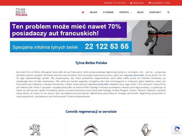 https://www.tylnabelkapolska.pl/