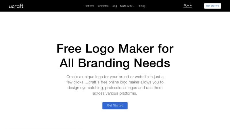 Free Logo Maker Ucraft