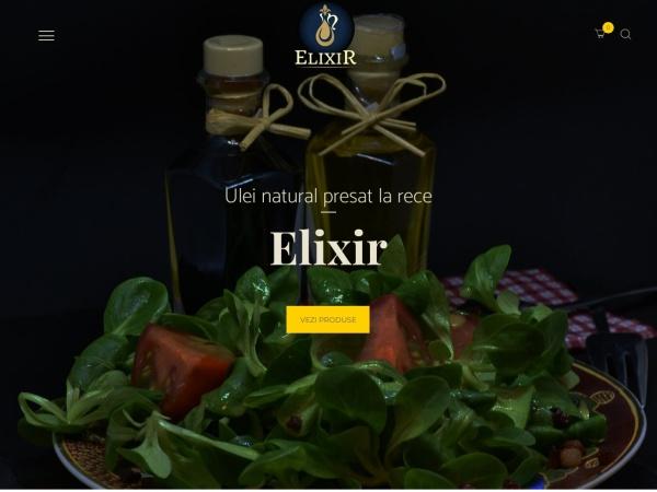 Screenshot of www.uleielixir.ro