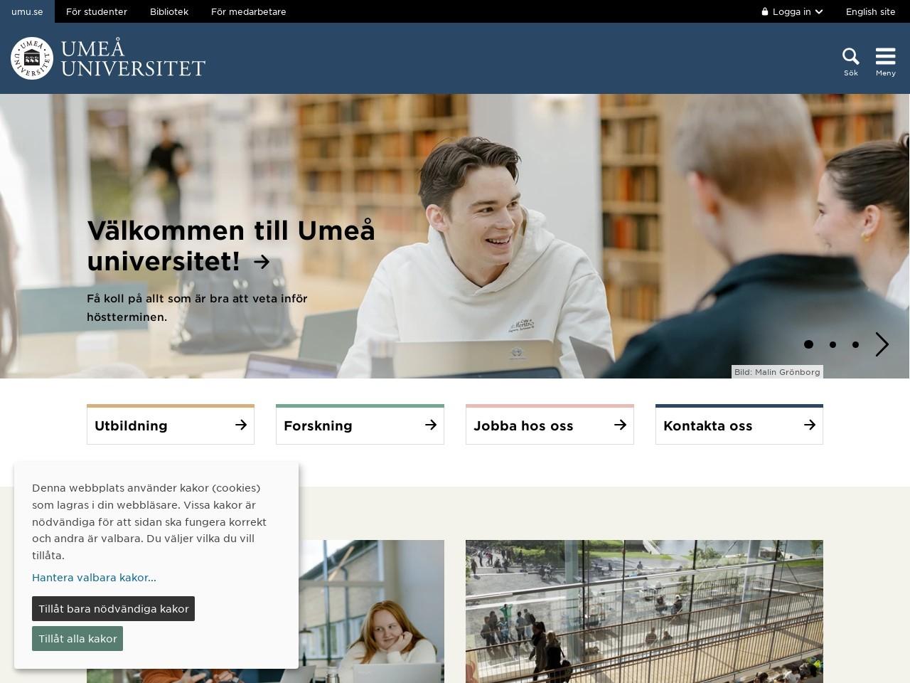 Välkommen Till Institutionen För Fysik - Umeå Universitet