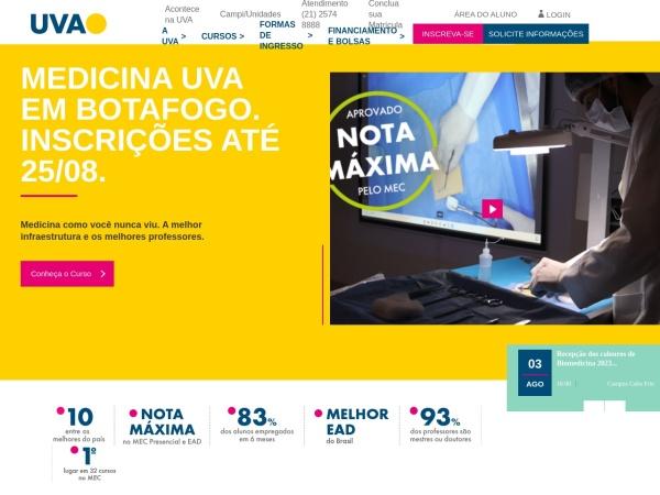 Screenshot of www.uva.br