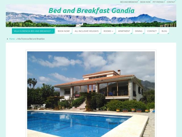 Screenshot of www.villa-florencia.co.uk