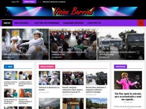 Captura de pantalla de www.visionbarrial.com.ar