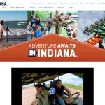 Screenshot of www.visitindiana.com