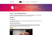 Screenshot of www.vivats.de