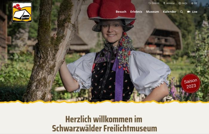 Screenshot von www.vogtsbauernhof.de