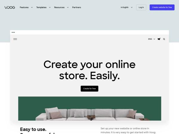 Voog. Beautiful websites that speak foreignese