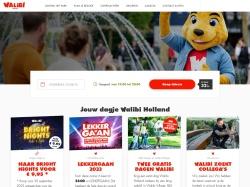 Walibi aanbieding: 22% korting op een online ticket
