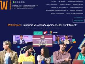 WebCleaner pour supprimer dans les règles de l'art vos diverses données personnelles et professionnelles du web