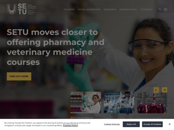 Screenshot of www.wit.ie
