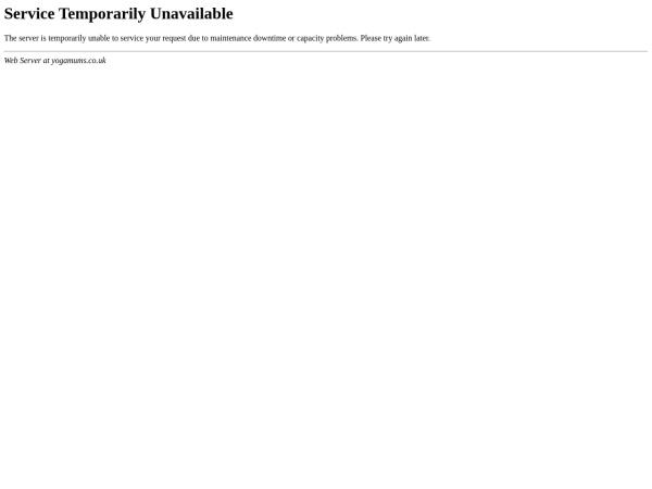 Screenshot of www.yogamums.co.uk
