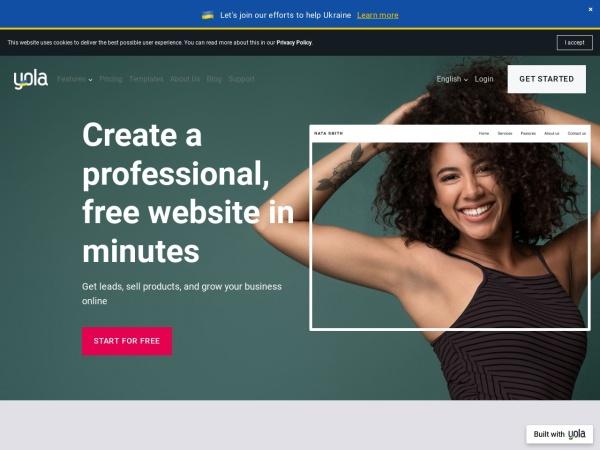 Yola - Make a Free Website