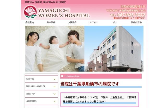 Screenshot of www.ywh.or.jp