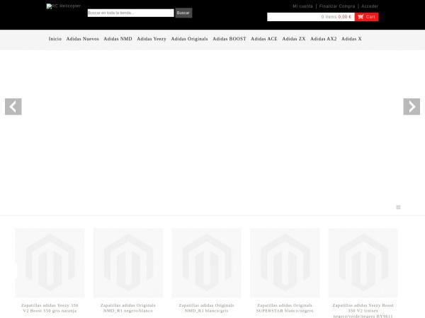 Captura de pantalla de www.zapatillasoriginals.es