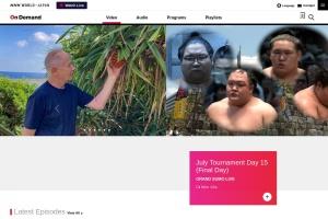 Screenshot of www3.nhk.or.jp