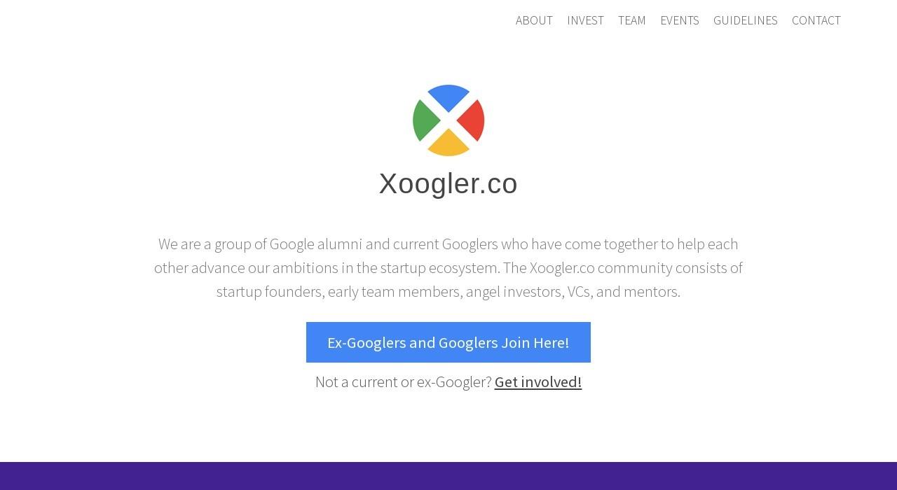 Screenshot of xoogler.co