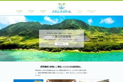 Screenshot of yaeyama-ishigaki.com