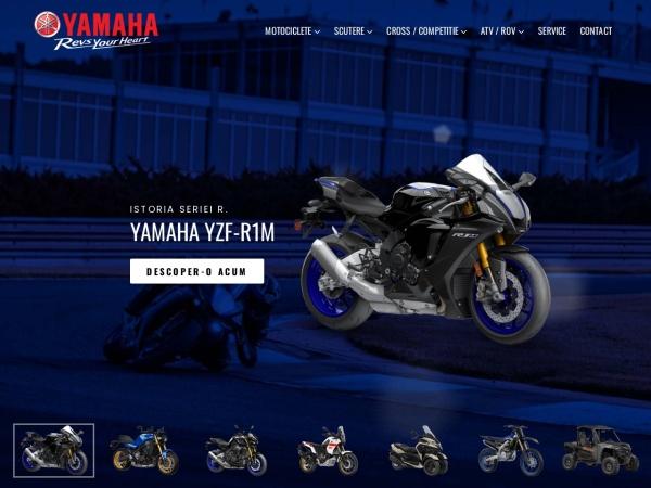 Screenshot of yamahacluj.ro