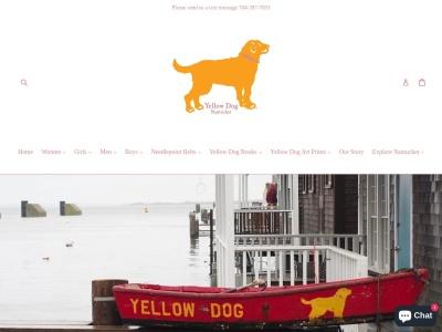 Screenshot of yellowdognantucket.com