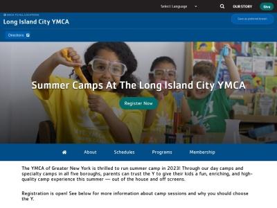 Screenshot of ymcanyc.org