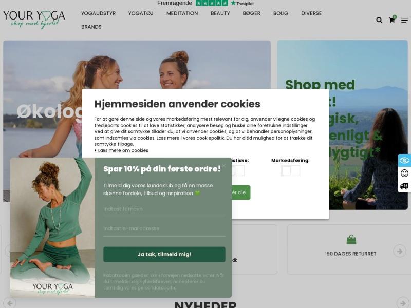 Your Yoga Shop rabatkode