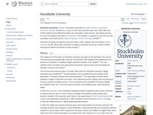 Stockholm University - Wikipedia