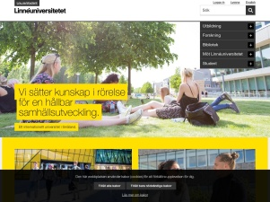 Ett Modernt Universitet I Småland - Linnéuniversitetet - Lnu