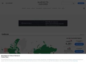 Global Market Indices - International Markets - Markets Insider