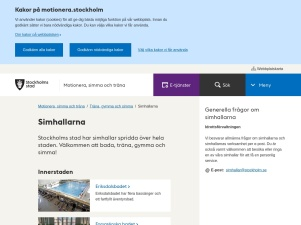 Simhallarna - Stockholms Stad - Motionera.Stockholm