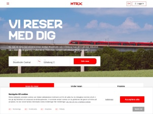Boka Tågbiljetter – Res Stockholm–Göteborg - MTRX