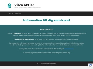 [Vilka Aktier] Taktisk Aktieallokering - En Tjänst Från Stockcess