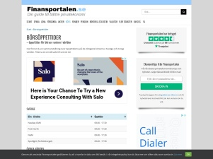 Börsöppettider - Se När Börserna Har Öppet - Finansportalen