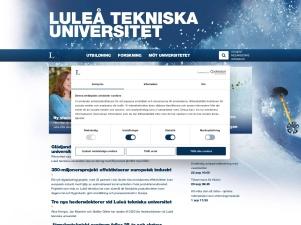 Luleå Tekniska Universitet. LTU - Forskning Och Utbildning I
