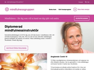 Mindfulness. Meditation I Stockholm - Kurs & Utbildning I