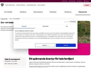 Zoo- Och Badpaket - Nordic Choice Hotels