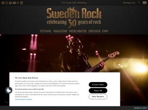 Sweden Rock Festival 3 - 6 Juni. 2020